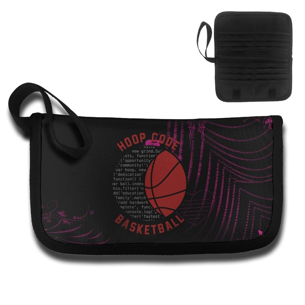 Basketball Passion Strive For Greateness Travel Wallet Passport Holder Document Organizer