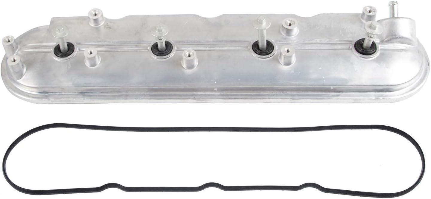 264-965 Replace 12570427 264-965 Aluminum Valve Cover Compatible with Cadillac Escalade Avalanche Crovette 1500 2500 3500 GMC 1500 2500 3500 Pontiac G8