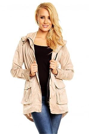 9443d5b0ceef30 JACKE-MANTEL BEST EMILIE X593 BEIGE: Amazon.de: Bekleidung