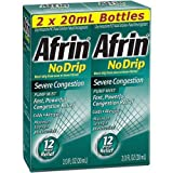 Afrin No Drip Severe Congestion - 5Pack (2/20ml Each) Hk#$kjD