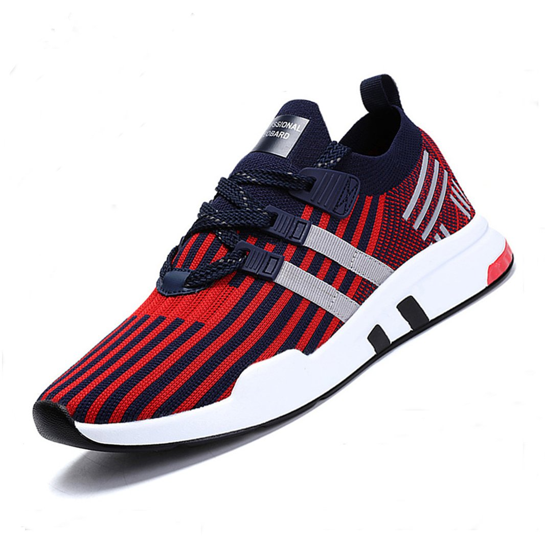 ZIITOP Homme Baskets Chaussures de Course Sneakers Outdoor Running Sports Fitness Gym Shoes
