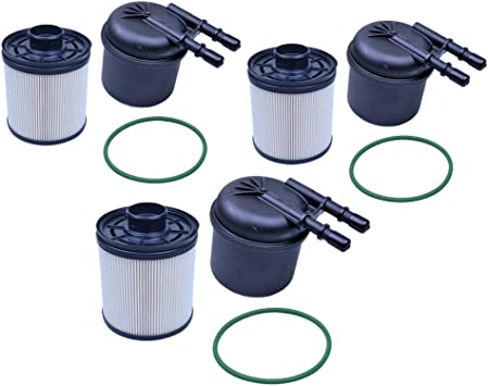 FLYPIG New FD4615 Fuel Filters For F250 F350 F450 F550 2011-2016 6.7 Liter Powerstroke