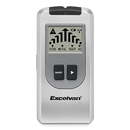 Excelvan - Detector de metales 4 en 1 multifunción con gran pantalla LCD. Detector de