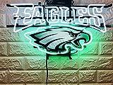 Desung 20''x16'' Philadelphia Sports Team Eagle Neon Sign (VariousSizes) HD Vivid Printing Technology Handmade Lamp Light HD42
