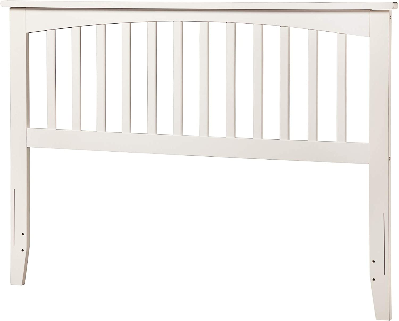 Atlantic Furniture Mission Headboard, Full, White