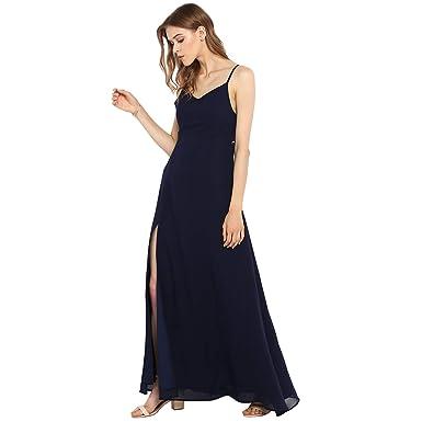 Spotstyl Navy Blue Latest Gown Maxi Dresses Fashion Elegant ...
