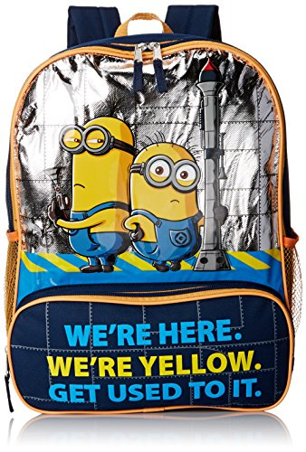 Despicable Me Boys' Backpack We Are Yellow, Multi