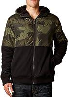 Fox Racing Mens Crockett Sasquatch Fleece Hoody Zip Sweatshirt