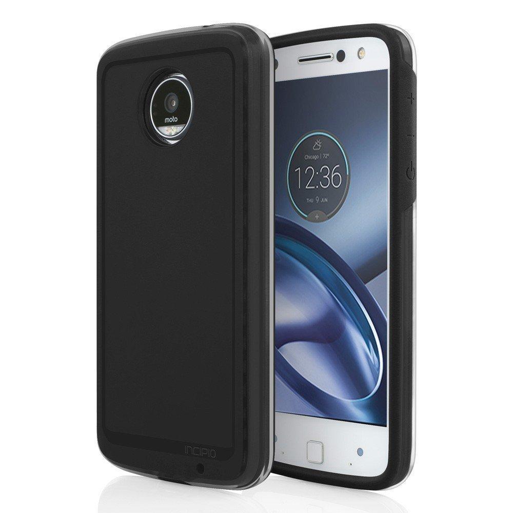 Amazon.com: Incipio Performance Series Level 4 Case for Moto Z Play Droid (black) : Cell Phones & Accessories