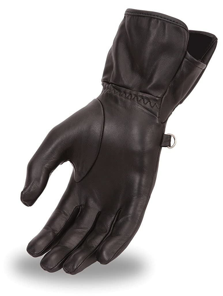 FI122GL First Manufacturing Womens Motorcycle Gauntlet Gloves First Mfg