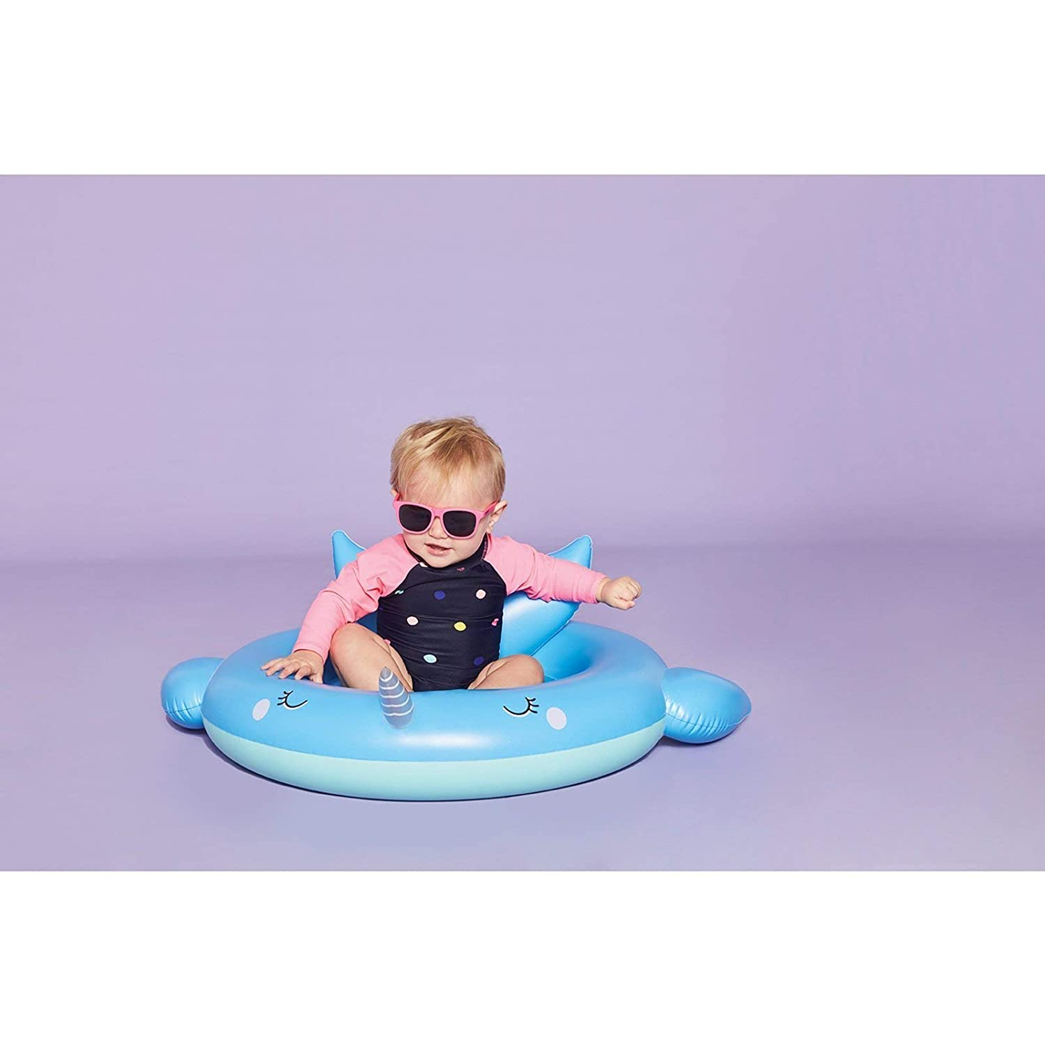 Sunnylife Kids Inflatable Pool or Beach Floating Seat Raft for Baby or Infants