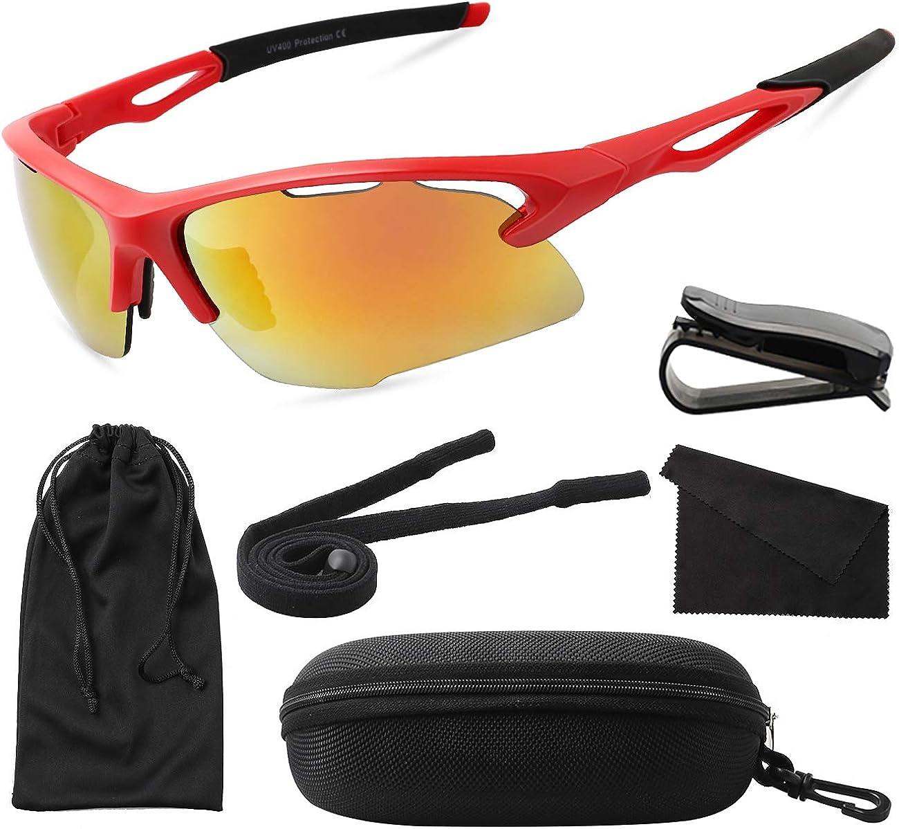 MAXJULI Sports Sunglasses...