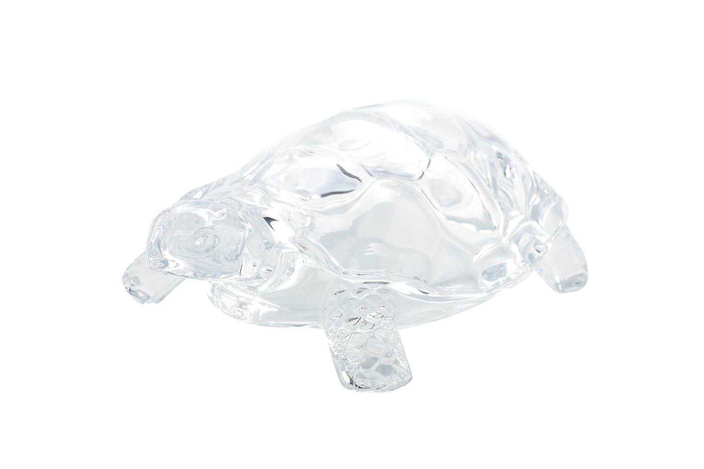 Diamond Star Glass 7X5X3 clear Turtle figure