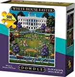 Dowdle Jigsaw Puzzle - White House Easter - 500 Piece
