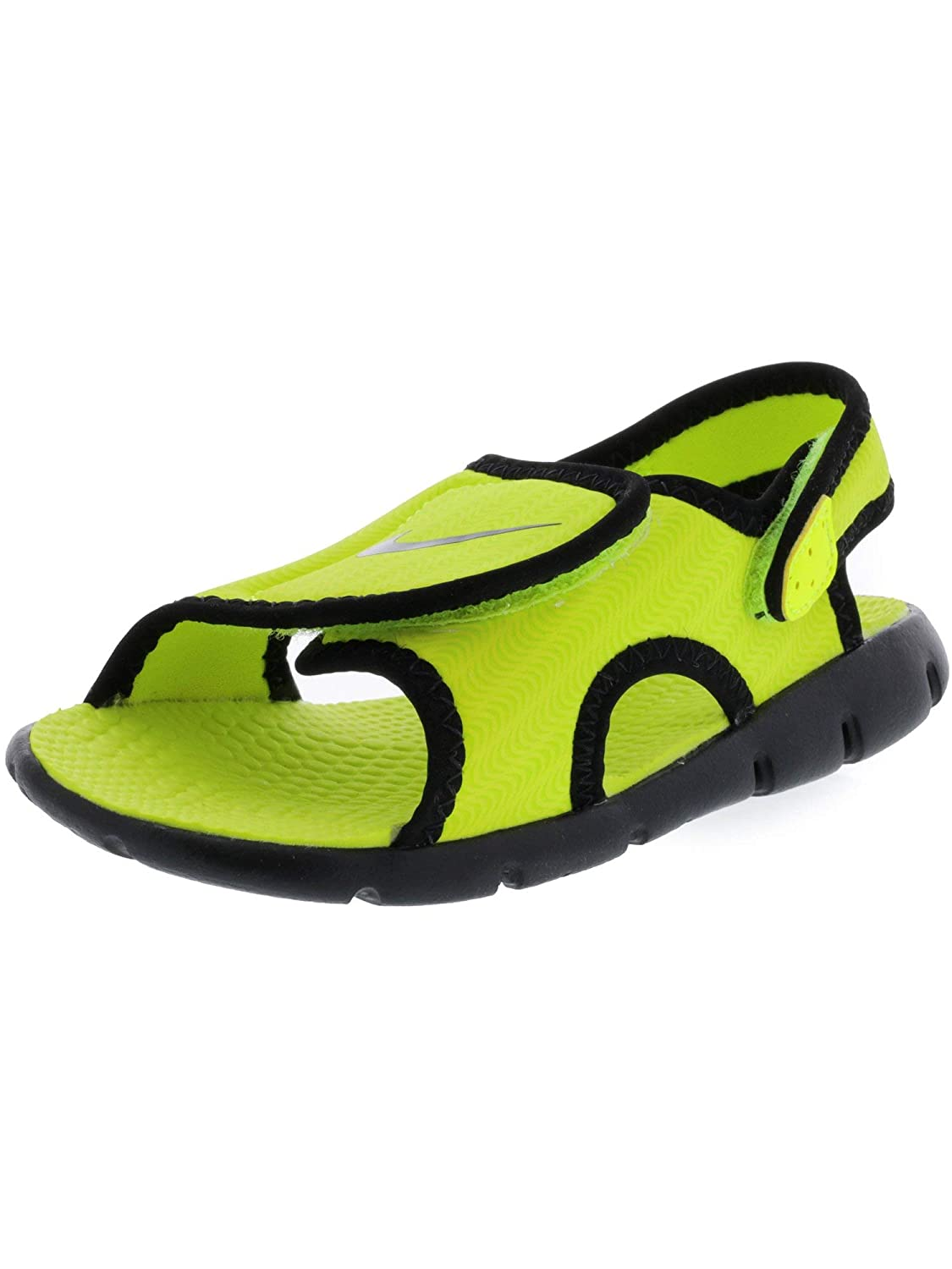 b401c52ee8e4 Amazon.com  Nike Sunray Adjust 4 Volt Black Sandal - 3M  Nike  Sports    Outdoors
