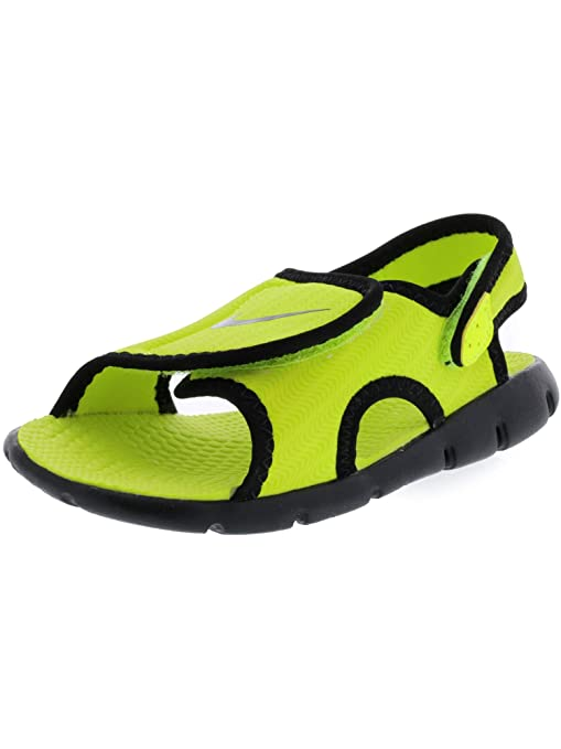 a270c424c81c3 Image Unavailable. Image not available for. Color  Nike Sunray Adjust 4  Volt Black Sandal ...