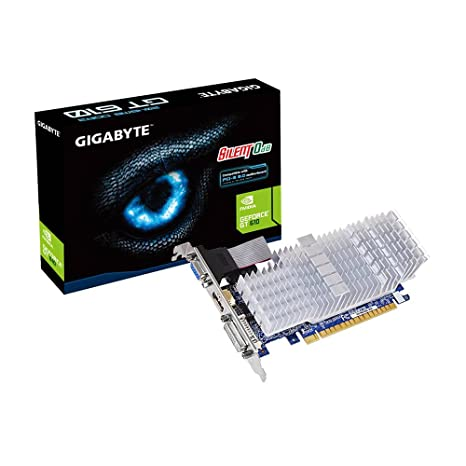 Gigabyte GV-N610SL-2GL - Tarjeta gráfica de 1 GB DDR3 (DVI, HDMI, VGA)