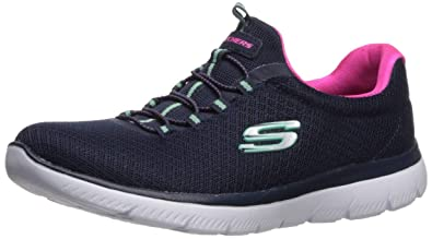 skechers memory foam womens trainers