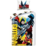 Batman e Robin Gotham set copripiumino singolo