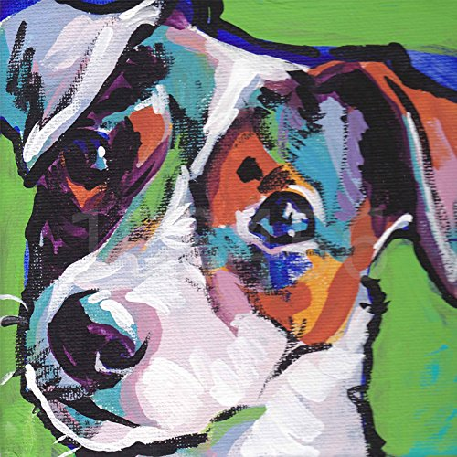 (24x24cm) full Square Diamond Embroidery,Animal Jack for sale  Delivered anywhere in Canada