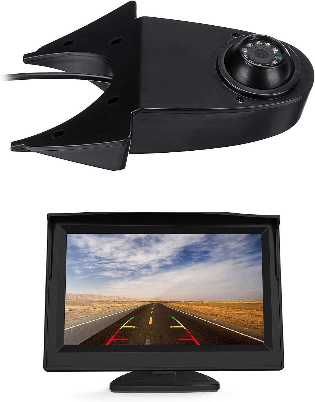 Hd 720p Rückfahrkamera Mit 12 7 Cm Lcd Monitor Kits Elektronik