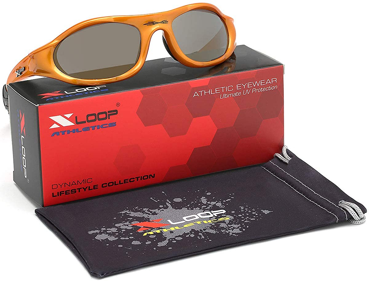 X LOOP Wrap Around Men's Sport Cycling Baseball Running Sunglasses XL0102