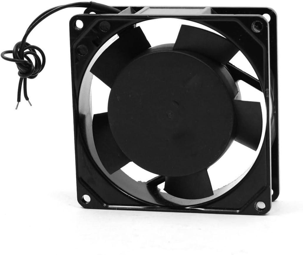 sourcing map 90mm Cuadrado Axial Ventilador Ventilador Ventilator CA 220-240V 0.0: Amazon.es: Electrónica