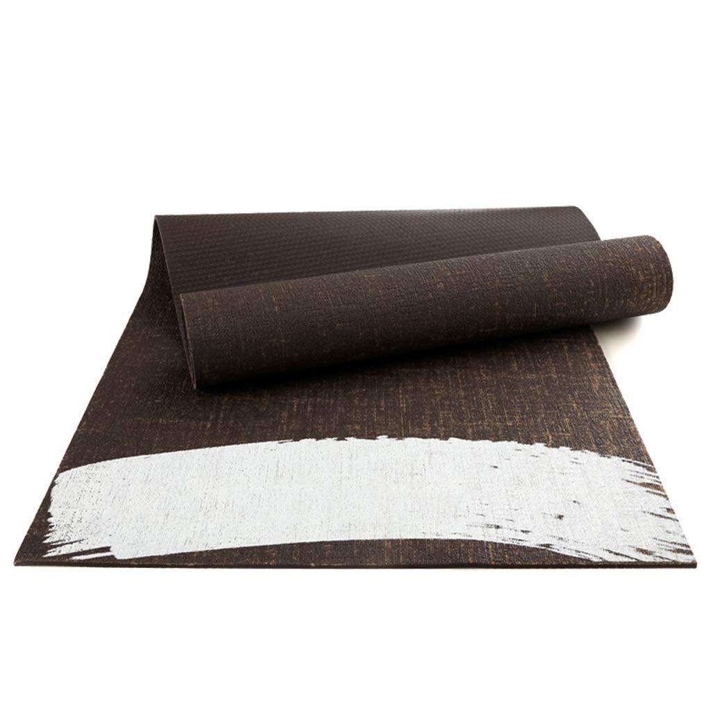 LXFMD PVC-Yogamatte Rutschfeste Übungsmatte Yogamatte Anfänger-Eignungsmatte männlich (größe : 1830  610  6mm)