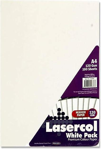 Premier Artículos de papelería lasercol Actividad – Papel A4 120 ...