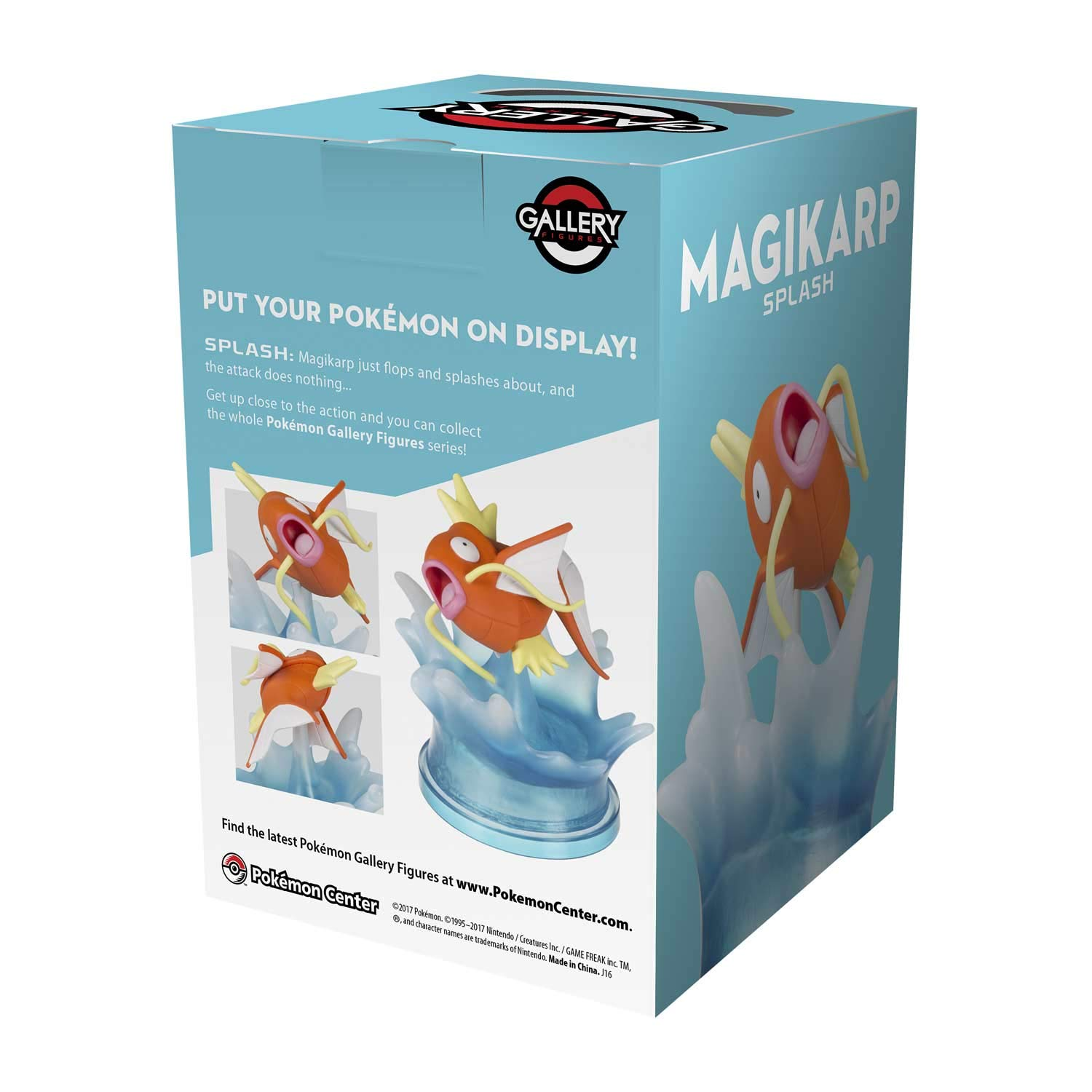 Amazon.com: Pokémon Center Gallery Figure: Magikarp - Splash: Toys & Games