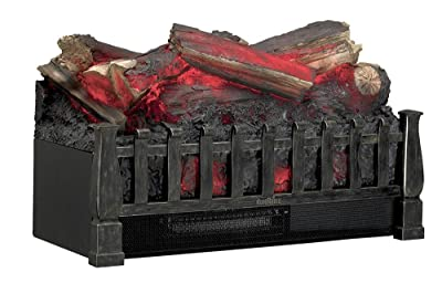 Duraflame DFI021ARU Electric Log Set Heater with Realistic Ember Bed