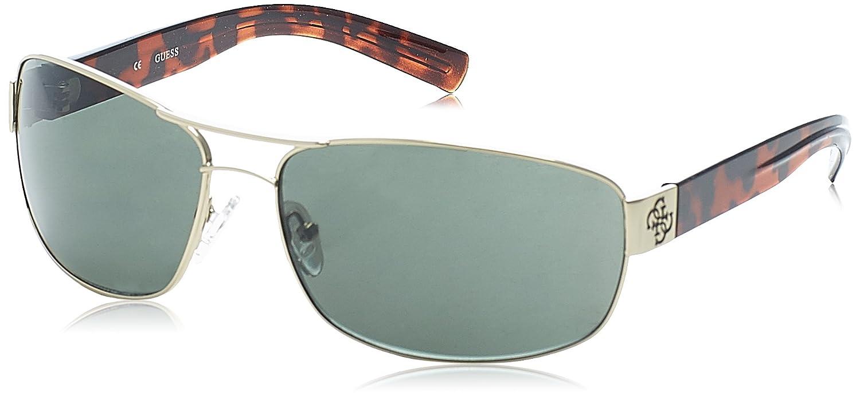 Amazon.com: Guess anteojos para hombre Aviator anteojos de ...