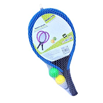 LIOOBO Juego de Tenis de bádminton de plástico para niños ...