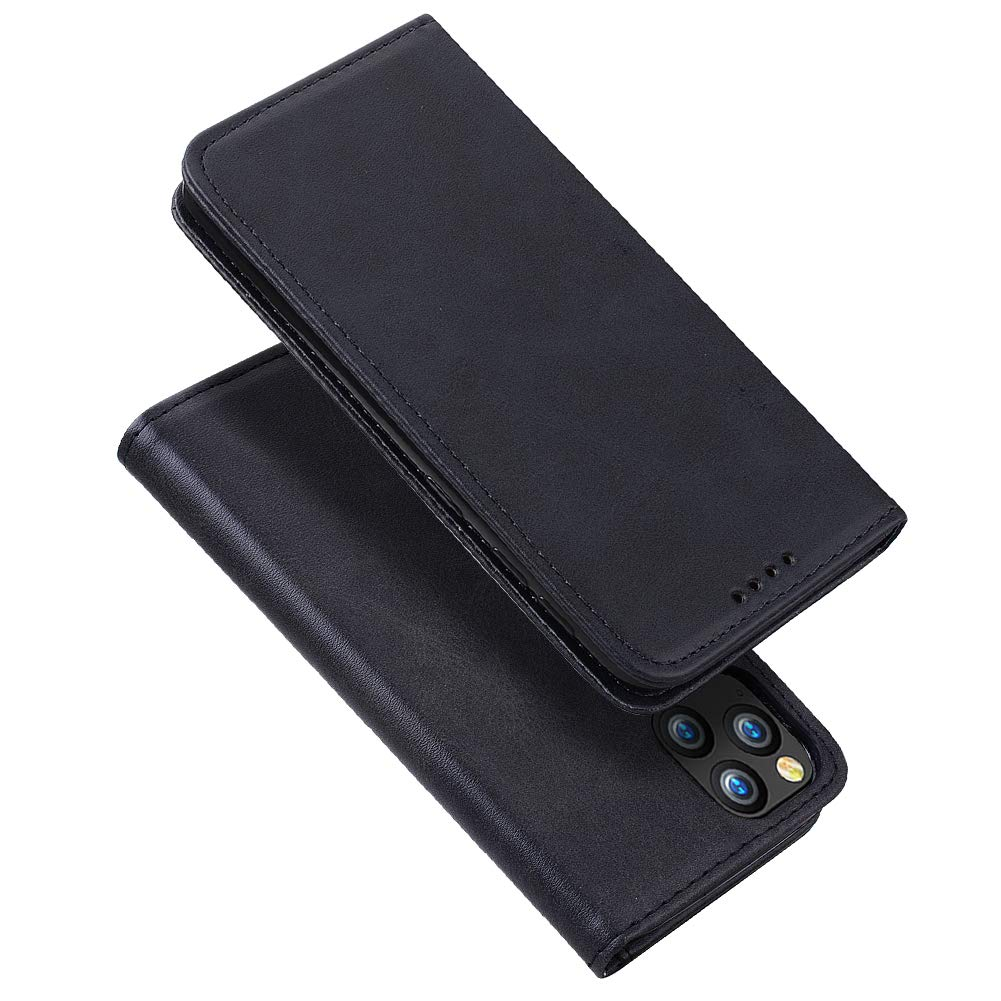 Radoo Coque iPhone 11 Pro Noir Fentes pour Cartes 5,8 Pouces 5,8 Pouces pour Apple iPhone 11 Pro ,Housse Portefeuille Cuir Synth/étique Etui Protection avec Fermoir Magn/étique