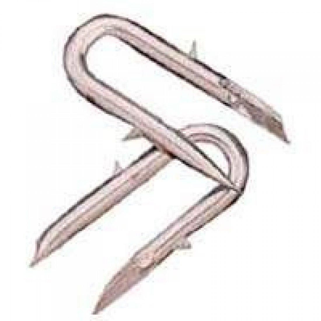 Staple Lock Galv 8ga 8lb DEACERO 7465//8506