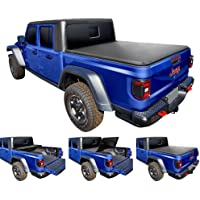 Tyger Auto T3 Soft Tri-Fold Truck Bed Tonneau Cover for 2020 Jeep Gladiator (JT) | TG-BC3J1060