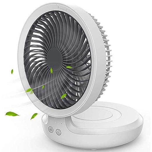 Fanes Ventilador USB, Mesa portátil Ventilador de Escritorio con ...