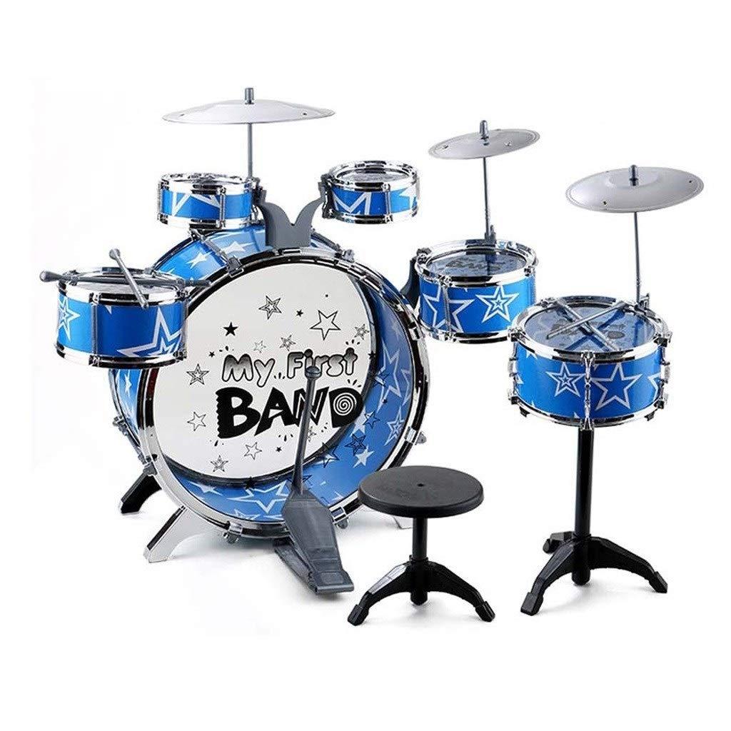 X-Kindertrommel Kindertrommeln Anfänger Üben Schlagzeug Jazz Schlagzeug Schlag Musikinstrumente Spielzeug Geburtstagsgeschenke (größe   S)  Large