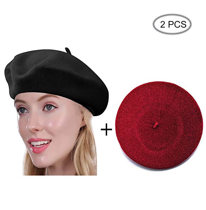 5678a495ea9af Beret Hat of French Vintage Style