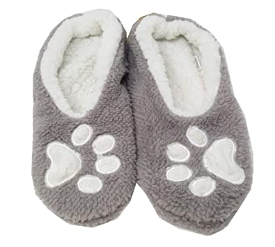 4fe13db8014 Faceplant Dreams  quot I Sleep with Dogs Slipper Footsies (S ...