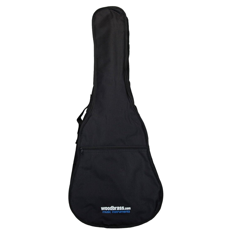 Woodbrass CGB10 1/4 - Funda para guitarra clásica, color negro ...