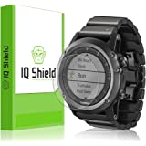 Garmin Fenix 3 Screen Protector, IQ Shield LiQuidSkin (6-Pack) Full Coverage Screen Protector for Garmin Fenix 3 HD Clear Anti-Bubble Film - with