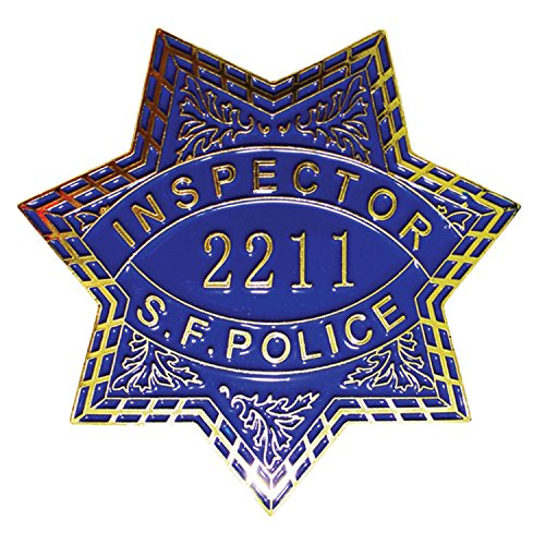 AIIZ Collectibles Dirty Harry San Francisco Inspector 2211