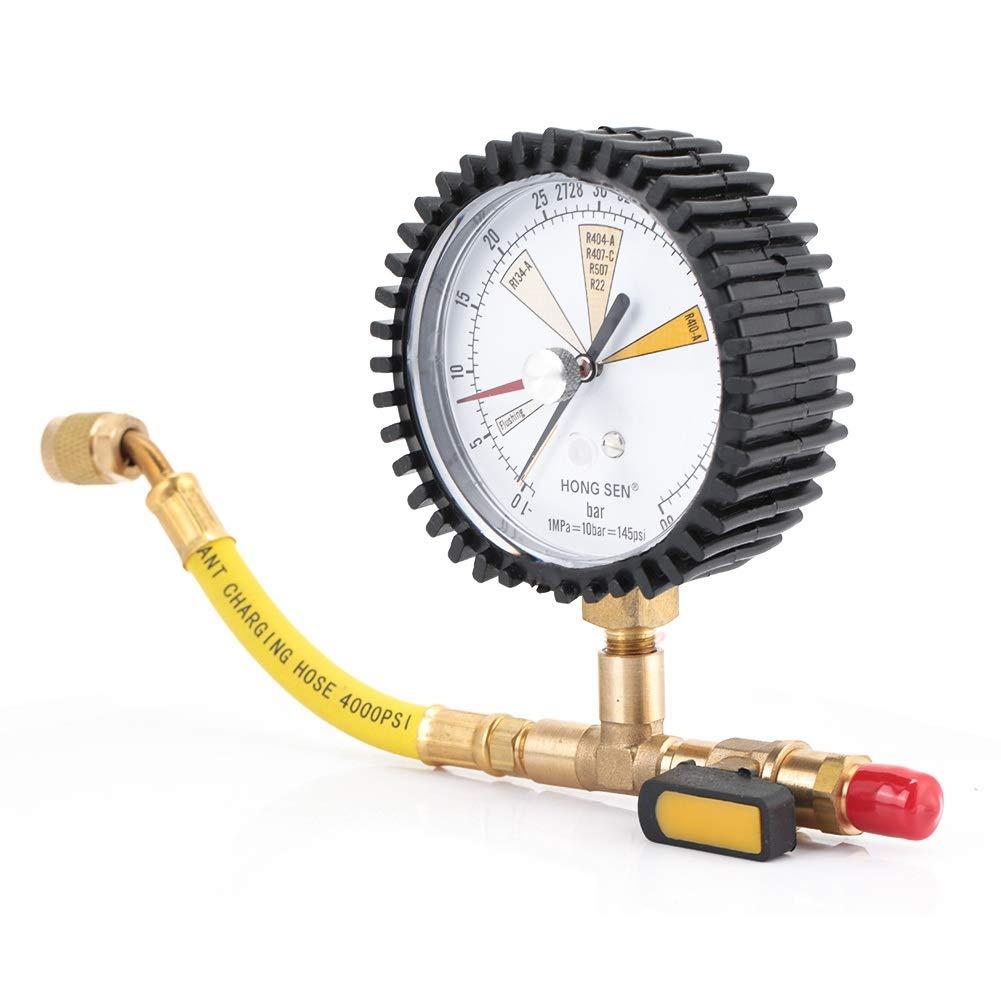 Table de test de pression manom/étrique de jauge de pression dazote-climatisation de r/éfrig/ération