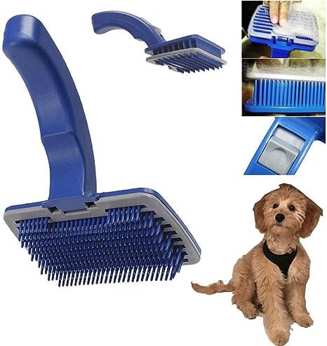 Auto limpieza cuidado de mascotas mano aseo cepillo de pelo peine perro gato
