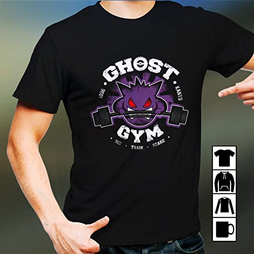 ffd53ce43 Fitness Ghost Gym Die Train Scare T shirts (Hoodies, Sweatshirts)