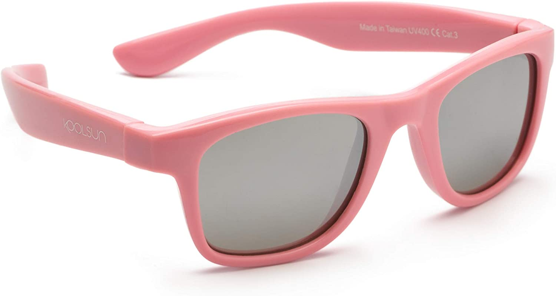 size 3-6 years Koolsun Fit Sunglasses Pink Lilac Chiffon UV400 Protection