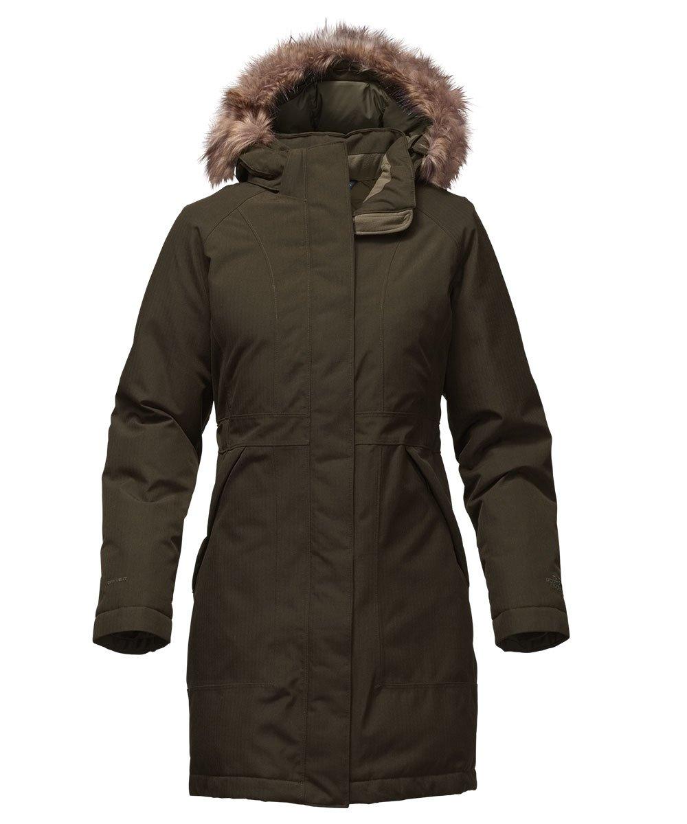 The North Face Arctic Parka レディース フード付き ロング ダウンコート B017UX9N48 X-Large|Rosin Green Heather Rosin Green Heather X-Large