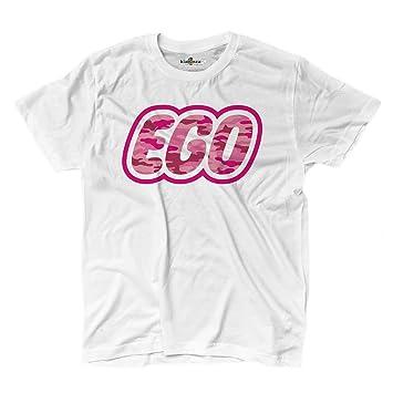 T-Shirt Shirt Herren Parodie Lego Ego Logo Trash Lustige 4 kiarenzafd, weiß
