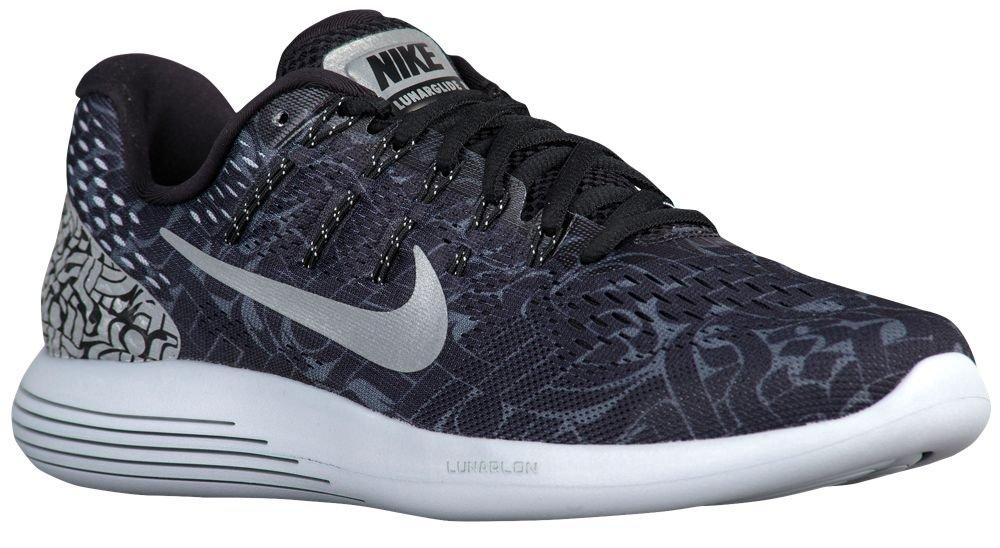 [ナイキ] Nike LunarGlide 8 - メンズ ランニング [並行輸入品] B072FRJ38F US06.0 Black/Dark Grey/White/Reflective Silver